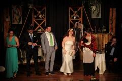 """""""Ecco la sposa"""" il primo spettacolo andato in scena nel 2018 al Teatro Vida"""