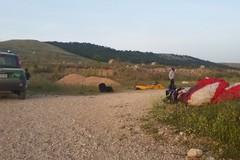 Sorvolo non autorizzato con parapendio nel Parco dell'Alta Murgia