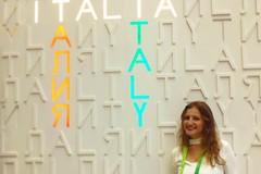 Rachele Carlucci in Kazakhstan per Expo Astana 2017