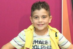 Il piccolo Giuseppe Lorusso allo Zecchino d'oro