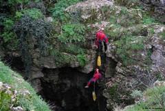 """Tre giorni nella Grotta di """"Faraulla"""" per esplorare la zona più profonda dell'inghiottitoio"""
