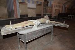 """Il Crocifisso del  """"Soccorpo"""" della Basilica cattedrale"""