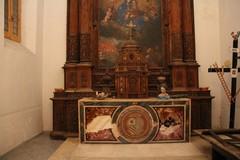La cappella del Carmine nella chiesa di San Sebastiano