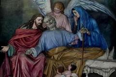 L'altare di San Giuseppe nella chiesa di Sant'Agostino