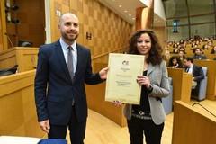 Alla Camera dei Deputati, la Fondazione Italia USA premia Roberta Leone Stella
