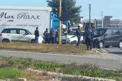 Incidente sulla statale 96 allo svincolo per via Selva