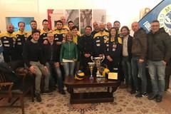 Il Comune di Gravina premia i campioni della Casareale Volley