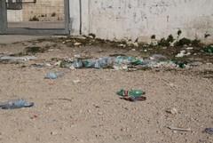 Ancora rifiuti in zona fiera