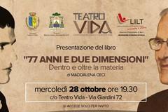 """Al Vida si presenta il libro di Maddalena Ceci """"77 anni e due dimensioni"""""""