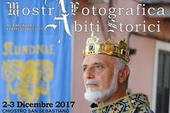 """Il Centro Studi """"Nundinae"""" organizza una mostra fotografica e una di abiti storici"""
