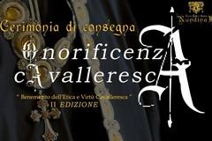 """Onorificenza Cavalleresca: """"Benemerito dell'Etica e Virtù Cavalleresca"""""""