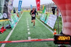 Trail delle 5 Querce, vittoria del bergamasco Luca Cagnati