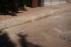 Riparato il marciapiede in via Verdi