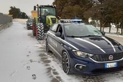 Neve a Gravina, situazione sotto controllo