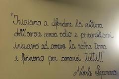 In memoria dell'amico Nicola Saponaro