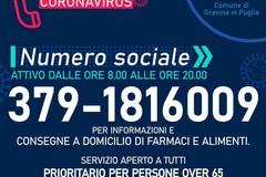 Il Comune attiva il numero sociale