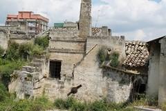 Nuovo crollo nel centro storico