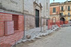 Piazza Pellicciari: lavori avanti tutta