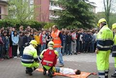 Formazione per i volontari della protezione civile