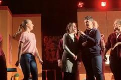 Due giovani gravinesi al teatro francese