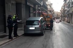 Iniziati i servizi di lavaggio stradale