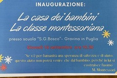 Alla San Giovanni Bosco inaugurazione classi montessoriane