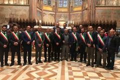 Gravina e i Comuni del Crocifisso donano l'olio alla Basilica di Assisi