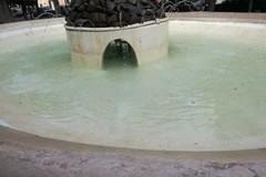 Villa Comunale, vasche della fontana con acque pulite