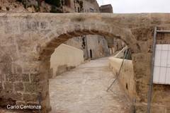 Via Montea, torna l'antico arco