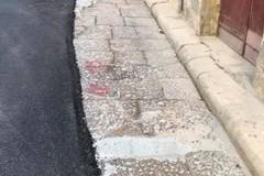 Asfalto in via Porticella: è degenerazione urbana