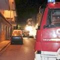 Bruciate le auto dei Carabinieri forestali dell'Alta Murgia