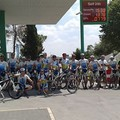 Ospiti a Gravina i ciclisti di Palagiano in Pellegrinaggio a San Giovanni Rotondo