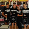 Campionati regionali di kick boxing