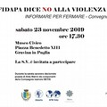 """""""Informare per Fermare"""": convegno della Fidapa per la giornata mondiale contro la violenza sulle donne"""