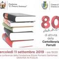 80 anni di vita per la cartolibreria Parrulli che festeggia con una iniziativa alla Fondazione Santomasi