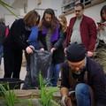 Un'oasi verde nella comunità alloggio