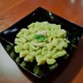 """Ricetta Salata """"Chicche di patate"""": Gnocchetti con piselli e seppie"""