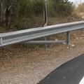 Urge guard-rail sulla strada per Spinazzola