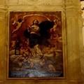 Torna a splendere la tela della Immaculata Conceptio