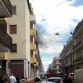 Incendio in un appartamento