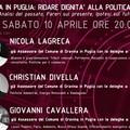 """Italia viva Gravina organizza incontro dal titolo """"Ridare dignità alla politica si può?"""""""