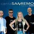 L'Italian Beat band si esibisce a CasaSanremo