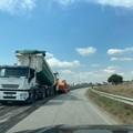 Strada provinciale 27, lavori in corso