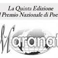 V Edizione del Premio Nazionale di Poesia Maranatà