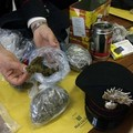 Per evitare l'arresto tenta di sbarazzarsi della droga