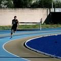 Il giovane velocista Paolo Langiulli ai campionati nazionali