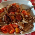 "Ricetta Salata ""Penne integrali al Betacarotene"""