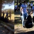 Pulizia della città, volontari a lavoro