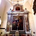 Gravina: Santa Sofia, tomba di Angela Castriota Skanderbeg