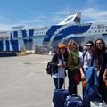 Gli studenti dell'Istituto Santomasi sulla nave della Legalità